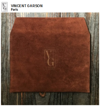 Vincent Garson, haute maroquinerie pour homme, made in France