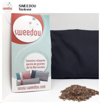 Sweedou, coussins chauffants made in Toulouse